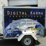 Digital Karma trailer :: Custom Graphics by St Ives Signs
