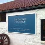 The Cottage Boutique :: Signs by St Ives Signs