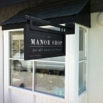 The Manor Shop :: Signs by St Ives Signs