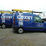 Coast Electrical Services :: Vehicle Graphics by St Ives Signs