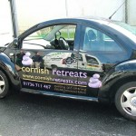Cornish Retreats :: Vehicle Graphics by St Ives Signs