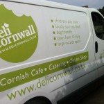 Deli Cornwall :: Vehicle Graphics by St Ives Signs