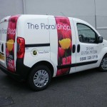 The Floral Shop :: Vehicle Graphics by St Ives Signs