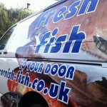 Fresh Cornish Fish :: Vehicle Graphics by St Ives Signs