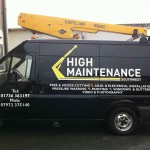 High Maintenance :: Vehicle Graphics by St Ives Signs