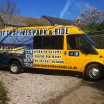 Hayle to St Ives Park & Ride :: Vehicle Graphics by St Ives Signs