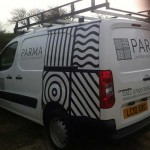 Parma :: Vehicle Graphics by St Ives Signs