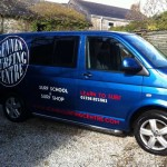 Sennen Surfing Centre :: Vehicle Graphics by St Ives Signs
