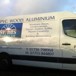 St Ives Windows :: Vehicle Graphics by St Ives Signs