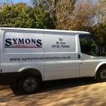 Symons Construction :: Vehicle Graphics by St Ives Signs