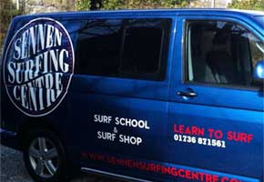 Vehicle graphics in Cornwall from St Ives Signs